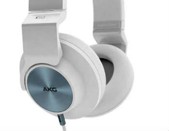 AKG K545 WHT Studio-Quality - Closed-Back Headphones