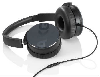 AKG Y50 Black On-Ear Headphones - On-Ear Headphones