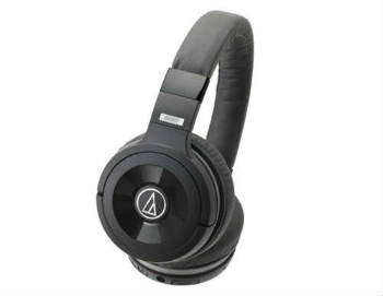 Audio-Technica ATH-WS99BT Solid Bass Bluetooth Wireless Over-Ear Headphones - Over-Ear Headphones
