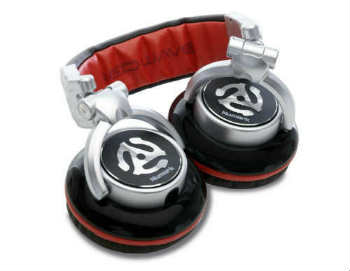Numark Red Wave Professional Over-Ear DJ Headphones - Closed-Back Headphones