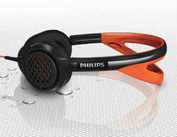 Philips ActionFit SHQ5200 On-Ear Headphones - On-Ear Headphones