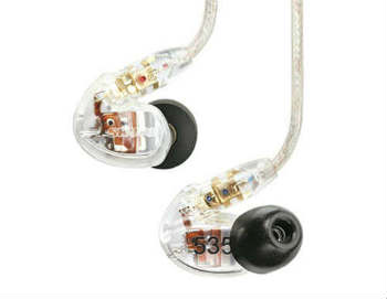 Shure SE535-CL Sound Isolating Earphones - In-Ear Headphones