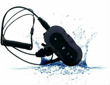 Aerb 4G Waterproof MP3 Music Player with Headphones - In-Ear Headphones