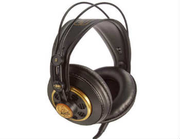 AKG K 240 Semi-Open Studio Headphones - Open-Back Headphones