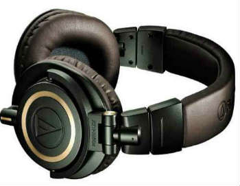 Audio-Technica ATH-M50x Headphones - Over-Ear Headphones