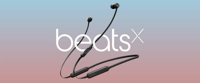 New BeatsX wireless earbuds