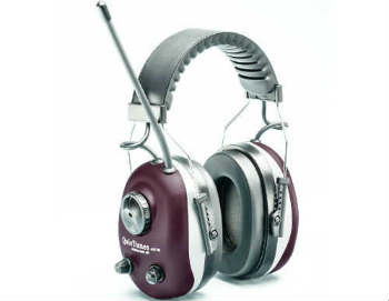 Elvex COM-660 QuieTunes AM/FM Stereo Ear Muff - Closed-Back Headphones