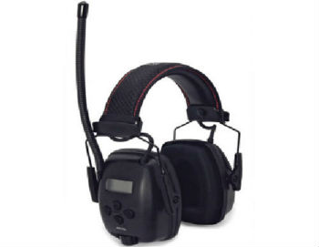 Howard Leight by Honeywell 1030331 Sync Radio Digital AM/FM/MP3 Earmuff  - Closed-Back Headphones