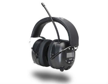Ion Audio Tough Sounds Hearing Protection Headphones - Closed-Back Headphones