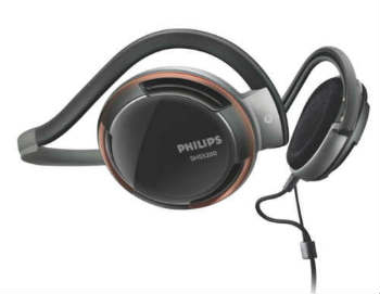 Philips Rich Bass Neckband Headphones - Closed-Back Headphones