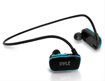 Pyle Flextreme Waterproof MP3 Player Headphones - In-Ear Headphones