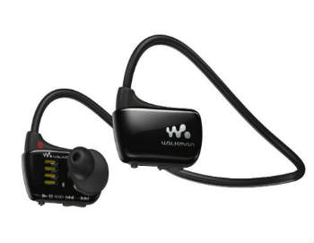 Sony Walkman Waterproof Sports MP3 Player with Swimming Earbuds - In-Ear Headphones
