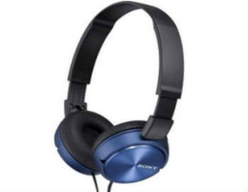 Sony ZX MDR-ZX310AP/L Series Headband Stereo Headset - Over-Ear Headphones