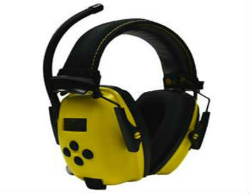 Stanley RST-63012 Sync Radio Hearing Protector with Digital AM/FM/MP3 - Closed-Back Headphones