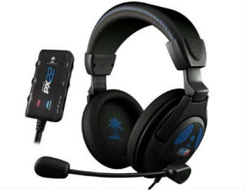 Turtle Beach Ear Force PX22 Amplified Universal Gaming Headset - Closed-Back Headphones