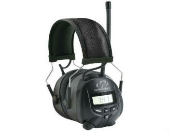 Walkers Game Ear AM/FM Radio Muff with Digital Display - Closed-Back Headphones